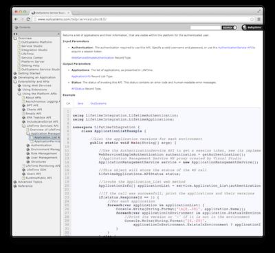 LifeTime Services API documentation